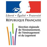 logo partenaire dreal direction régionale de l'environnement, de l'aménagement et du logement