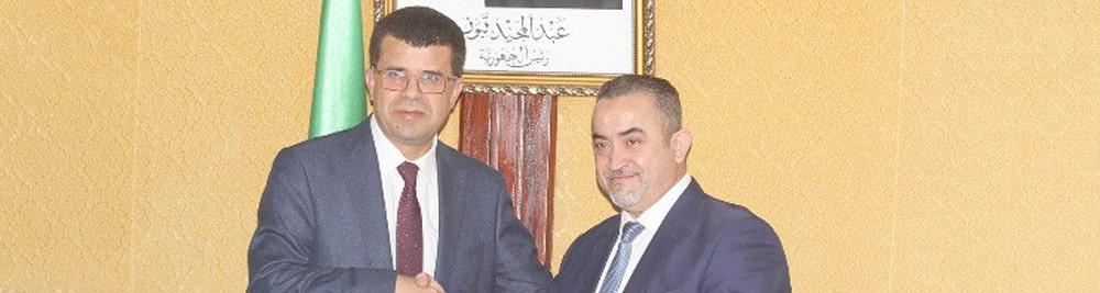 You are currently viewing Le nouveau Ministre des Ressources en Eau, Mustapha Kamel Mihoubi prend ses fonctions